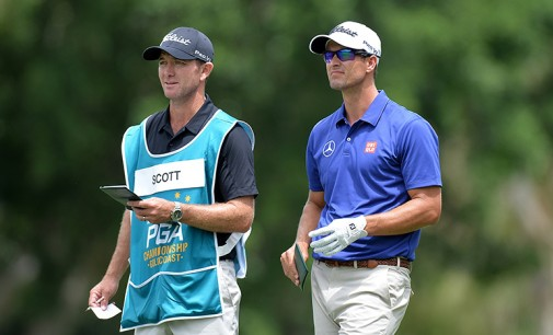 Adam Scott a retrouvé le bon caddy