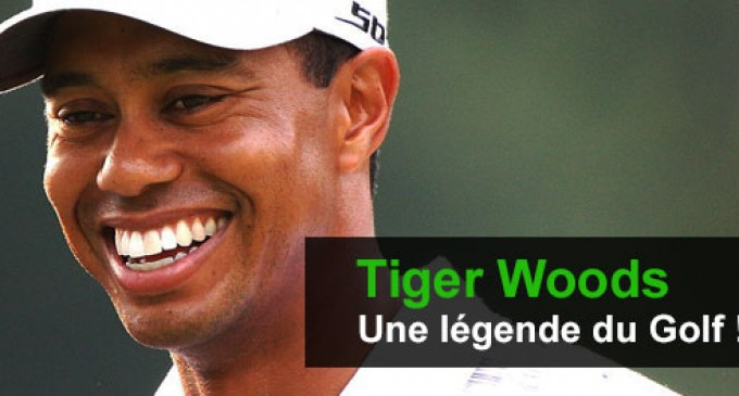 Tiger Woods, une grande légende du golf