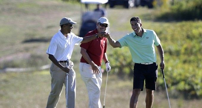Obama : un président grand fan de golf