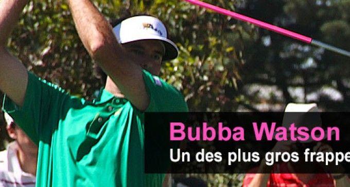 Bubba Watson : un des plus gros frappeurs du PGA Tour et un des rares gauchers en tournée !