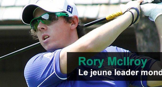 Rory McIlroy : le jeune leader mondial de golf