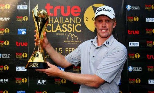 Andrew Dodt devient le 1er champion du True Thailand Classic