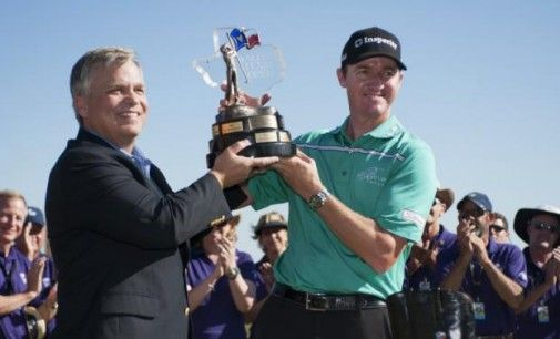 Jimmy Walker, vainqueur du Valero Texas Open