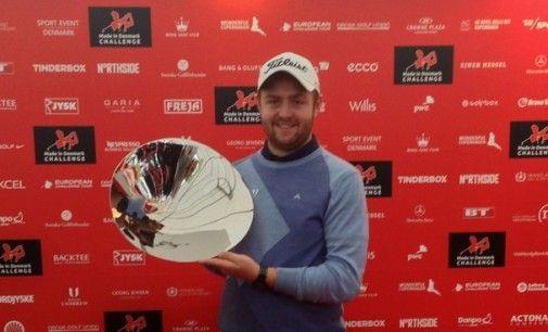 Max Orrin, vainqueur du Made in Danemark Challenge