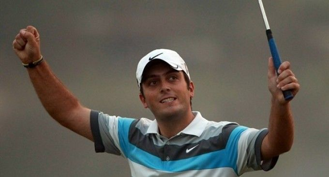 Francesco Molinari toujours en tête du BMW PGA Championship