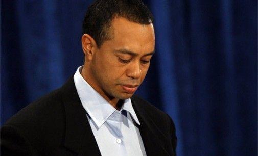 Un Tiger Woods accablé !