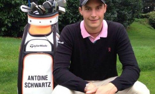 Antoine Schwartz gagne un tournoi sur le Pro Golf Tour