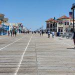Photos: les gens retournent sur la promenade d'Ocean City, ce n'est pas normal