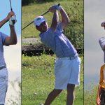 Cooper Collins, Joe Muschong et Brody Webb Garner, golf de l'Ohio Valley pour hommes, après la saison de la conférence - Morehead State University Athletics