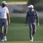Johnson et McIlroy se préparent pour le retour du golf avant l'audience de la télévision