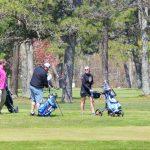 Les golfeurs d'Upper Cape sont ravis de reprendre la partie