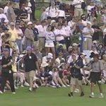 Il y a vingt ans, les stars en herbe Tiger Woods et Ernie Els se sont affrontées dans des trous supplémentaires au Sentry Tournament of Champions.