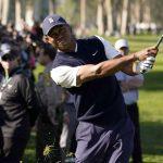 Récapitulatif: Tiger Woods a disputé un match de 5 contre 76 le samedi à Genesis Invitational, coup par coup