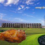 Des scènes du Topgolf à l'intérieur des ailes sauvages de Buffalo à l'intérieur de l'aéroport DFW - D Magazine