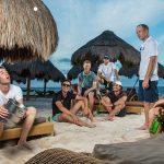 La vie de tournée en Latinoamérica est folle, mais les golfeurs passent un moment plus sauvage que vous