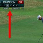 Dustin Johnson a atteint le plus long trajet jamais réalisé sur le circuit de la PGA. Mais cela ne comptera pas comme un record.