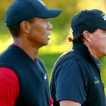 Tiger Woods contre Phil Mickelson: l'histoire de la bande: comment Tom Brady et Peyton Manning se retrouvent dans le golf