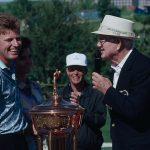 Salué par le meilleur gentleman du golf