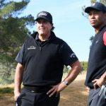 Le match II «Champions pour la charité» Tiger vs Phil cotes et choix