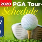 Calendrier de la tournée PGA 2020