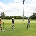 Oubliez les moments difficiles, les tirs tremblants - revoir le golf est ce qui compte le plus