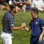 Johnson et McIlroy se préparent au retour du golf à la télévision