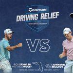 McIlroy, Johnson, Fowler, Wolff titre TaylorMade Driving Relief marquant le retour du golf télévisé au profit des efforts de secours COVID-19