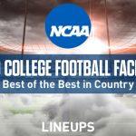 Top 10 des meilleures installations de football universitaire du pays