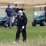 Donald Trump ravi de voir le golf revenir et souhaite que d'autres sports suivent
