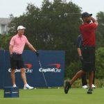 Woods-Manning domine Mickelson-Brady dans un événement de golf mémorable