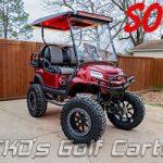 Chariots de golf à gaz personnalisés à vendre