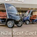 Voitures de golf Garia expédiées à l'échelle nationale à partir des voiturettes de golf de CKD