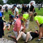 Un coup de foudre au Tour Championship fait 6 blessés