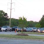 Un embouteillage de vente de poulet ferme le chemin Lake Wheeler à Raleigh :: WRAL.com
