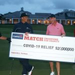 'The Match: Champions for Charity': Tiger Woods et Peyton Manning gagnent 1 place