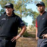 Match de golf Tiger-Peyton contre Phil-Brady pour aider à soulager