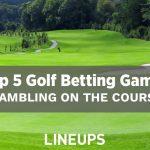 Top 5 des jeux de paris sur le golf à jouer: jouer sur le parcours