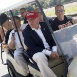 Secret Service signe un contrat de 179 000 $ pour une voiturette de golf cet été au Trump Trump New Jersey Golf Course: rapport