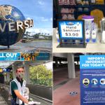 """PHOTOS, VIDÉO: La réouverture de CityWalk Grand à Universal Orlando établit une """"nouvelle norme"""" pour les parcs à thème après une pandémie"""